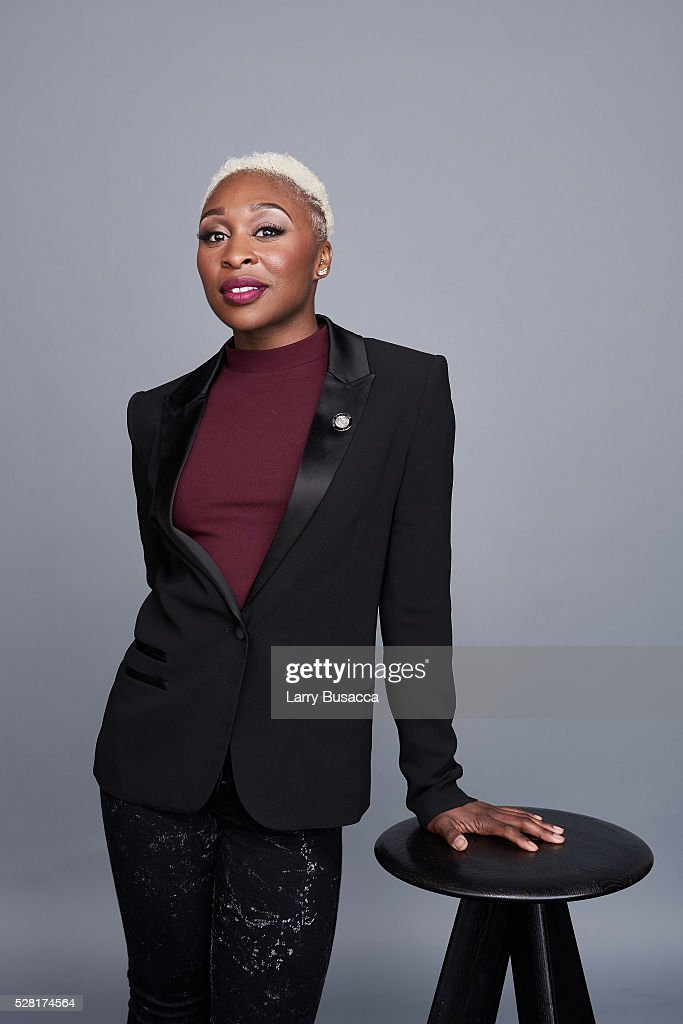 Actress <a gi-track='captionPersonalityLinkClicked' href=/galleries/search?phrase=Cynthia+Erivo&family=editorial&specificpeople=8553747 ng-click='$event.stopPropagation()'>Cynthia Erivo</a> poses for a portrait at the 2016 Tony Awards Meet The Nominees Press Reception on May 4, 2016 in New York City.