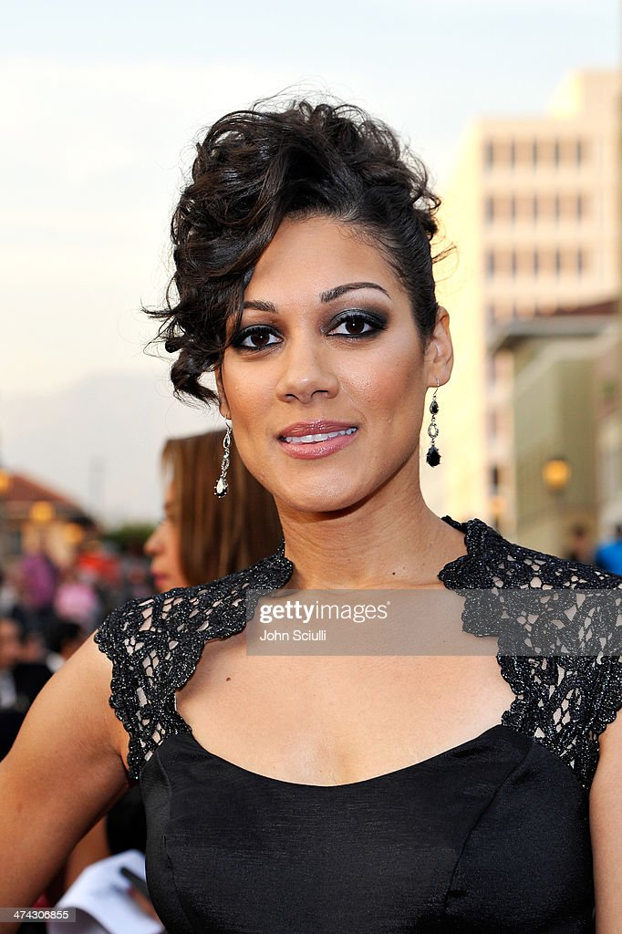 Actress Cynthia Kaye McWilliams attends the 45th NAACP Image Awards presented by TV One at Pasadena Civic Auditorium on February 22, 2014 in Pasadena, California.