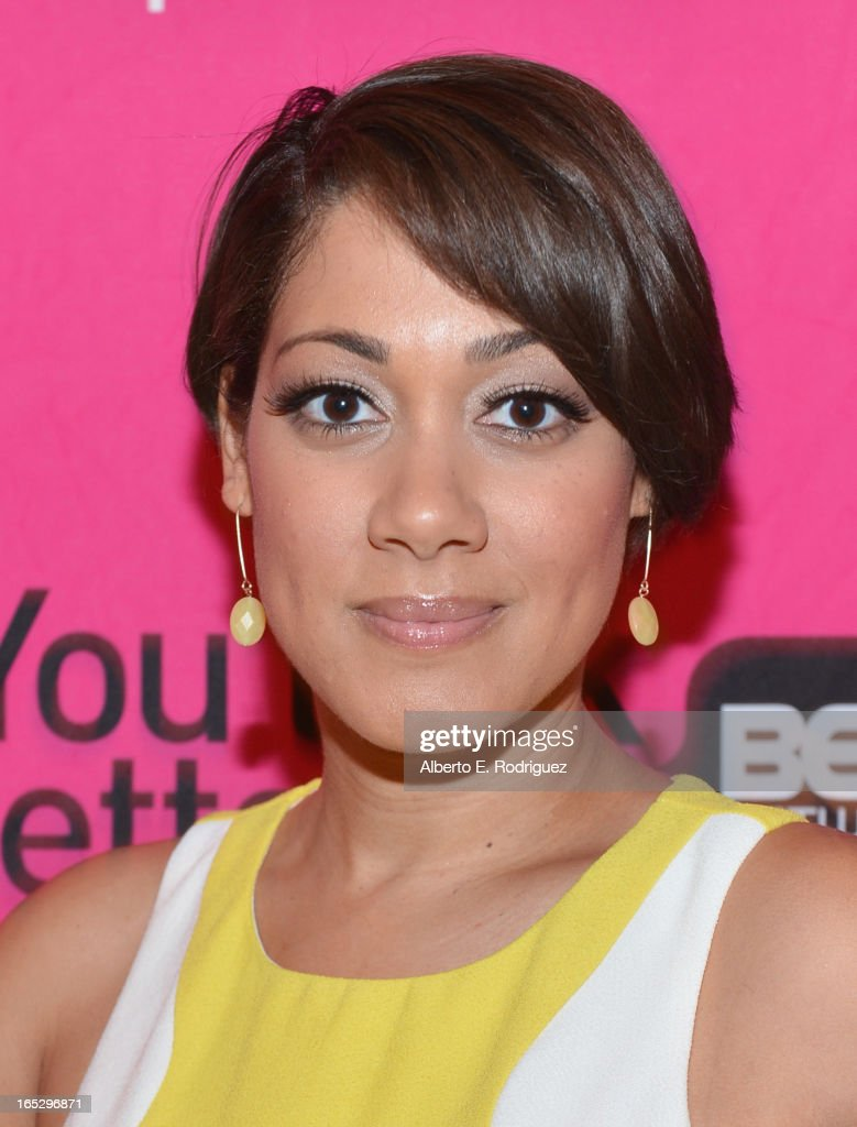 Actress Cynthia Kaye McWilliams attends the BET Networks' 2013 Los Angeles Upfront at Montage Beverly Hills on April 2, 2013 in Beverly Hills, California.
