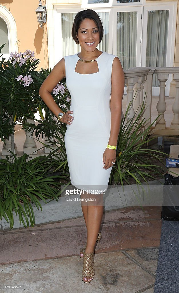 Actress Cynthia Kaye McWilliams attends the Reed for Hope Foundation's 11th Annual 'Sunshine Beyond Summer' celebration at a private residence on August 31, 2013 in Westlake Village, California.