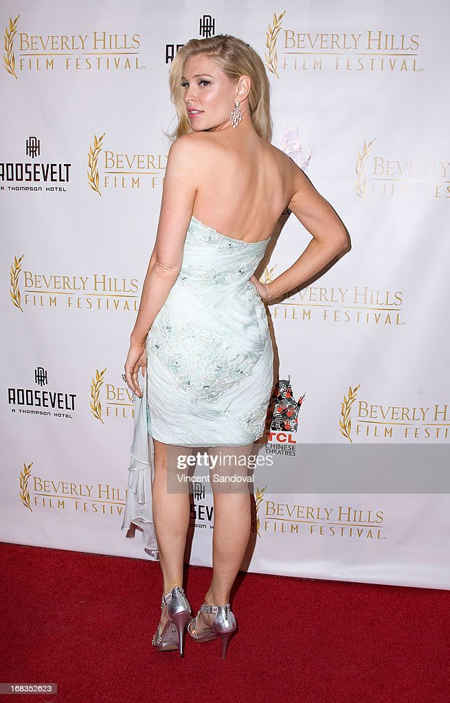 Actress Cynthia Kirchner attends the 13th Annual Beverly Hills Film Festival opening night gala at TCL Chinese Theatre on May 8, 2013 in Hollywood, California.