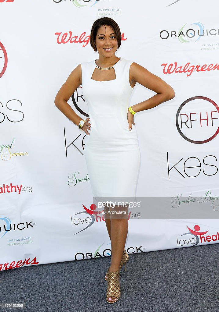 Actress Cynthia McWilliams attends the Reed For Hope Foundation's 11th annual 'Sunshine Beyond Summer' celebration on August 31, 2013 in Westlake Village, California.