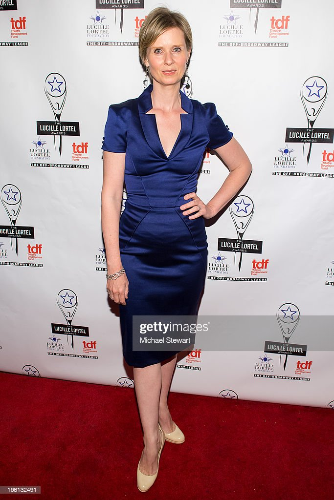 Actress Cynthia Nixon attends the 2013 Lucille Lortel Awards at Jack H. Skirball Center for the Performing Arts on May 5, 2013 in New York City.