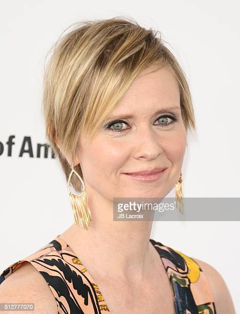 Actress Cynthia Nixon attends the 2016 Film Independent Spirit Awards on February 27 2016 in Santa Monica California