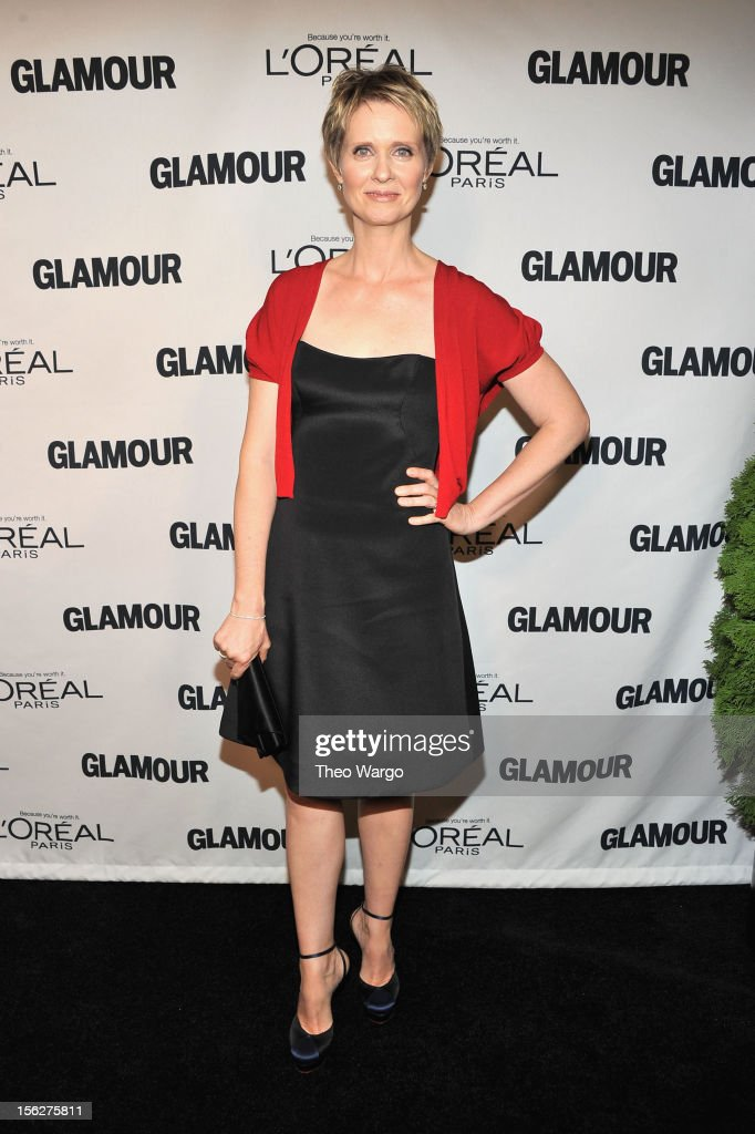 Actress Cynthia Nixon attends the 22nd annual Glamour Women of the Year Awards at Carnegie Hall on November 12, 2012 in New York City.