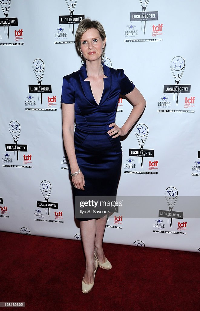 Actress Cynthia Nixon attends the 28th Annual Lucille Lortel Awards at NYU Skirball Center on May 5, 2013 in New York City.