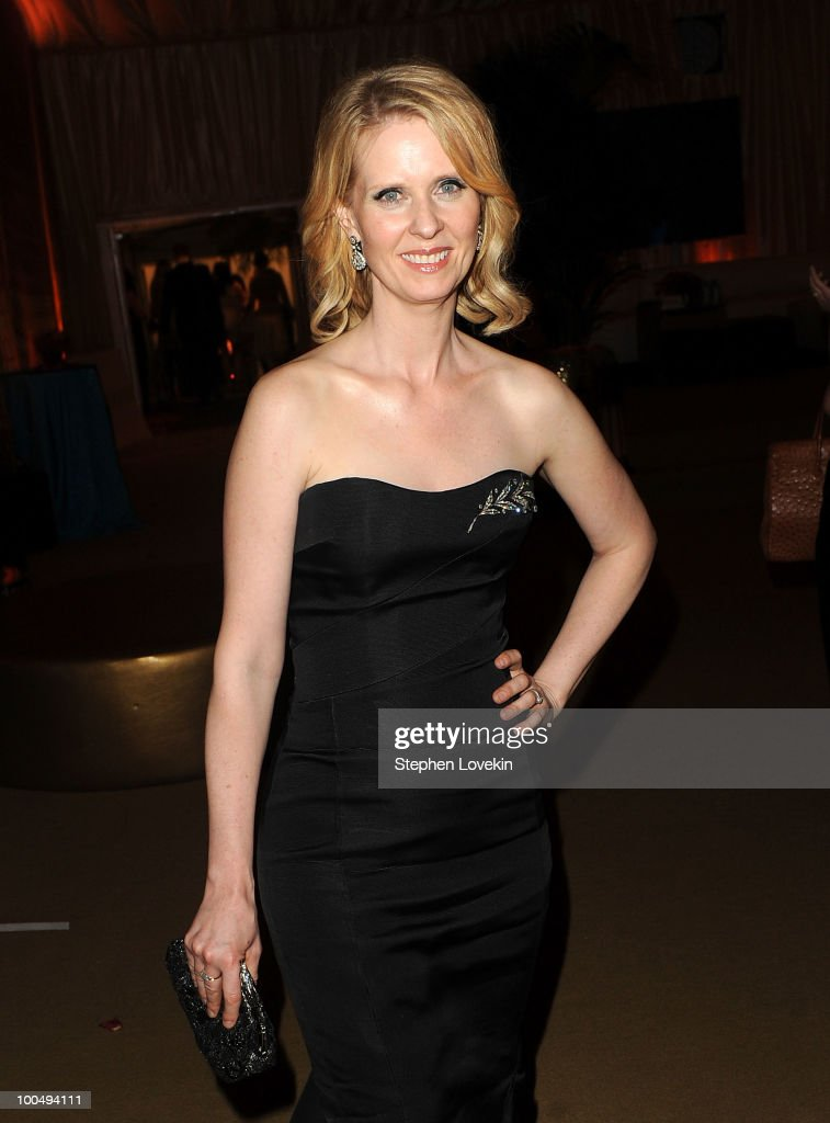 Actress Cynthia Nixon attends the after party following the premiere of 'Sex and the City 2' at Lincoln Center for the Performing Arts on May 24, 2010 in New York City.
