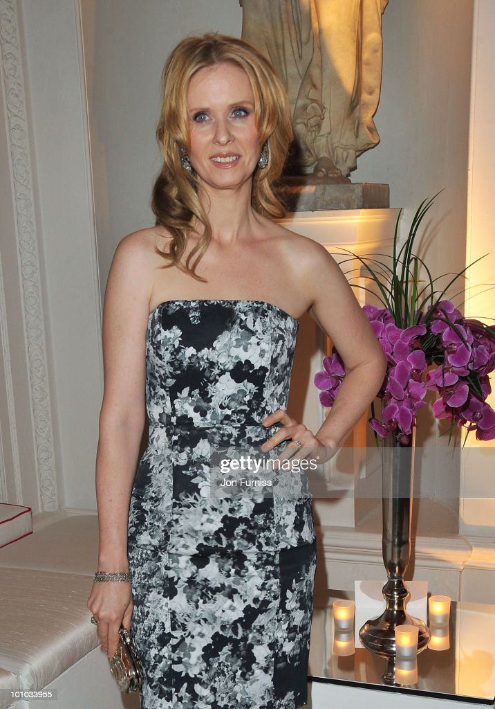 Actress Cynthia Nixon attends the afterparty for 'Sex And The City 2' at Kensington Palace on May 27, 2010 in London, England.