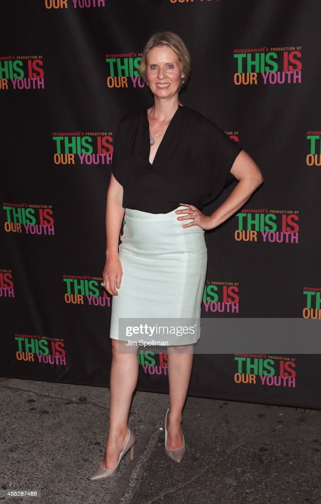 Actress <a gi-track='captionPersonalityLinkClicked' href=/galleries/search?phrase=Cynthia+Nixon&family=editorial&specificpeople=202583 ng-click='$event.stopPropagation()'>Cynthia Nixon</a> attends the 'This Is Our Youth' Broadway Opening Night at the Cort Theatre on September 11, 2014 in New York City.
