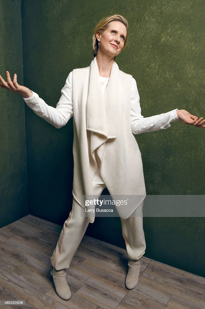 Actress Cynthia Nixon from 'James White' poses for a portrait at the Village at the Lift Presented by McDonald's McCafe during the 2015 Sundance Film Festival on January 23, 2015 in Park City, Utah.