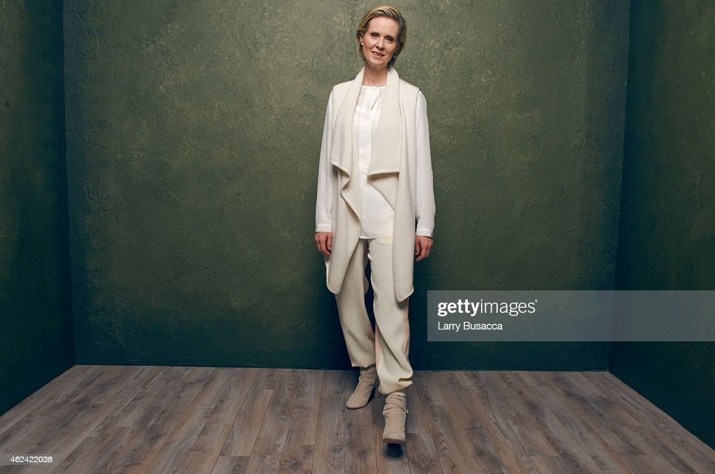 Actress <a gi-track='captionPersonalityLinkClicked' href=/galleries/search?phrase=Cynthia+Nixon&family=editorial&specificpeople=202583 ng-click='$event.stopPropagation()'>Cynthia Nixon</a> from 'James White' poses for a portrait at the Village at the Lift Presented by McDonald's McCafe during the 2015 Sundance Film Festival on January 23, 2015 in Park City, Utah.