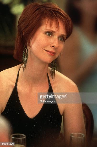 Actress Cynthia Nixon Stars As Miranda In The Hbo Comedy Series 'Sex And The City' The Third Season