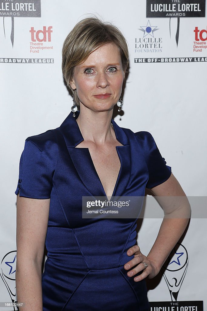 Actress Cynthia Nixon tattends the 28th Annual Lucille Lortel Awards on May 5, 2013 in New York City.