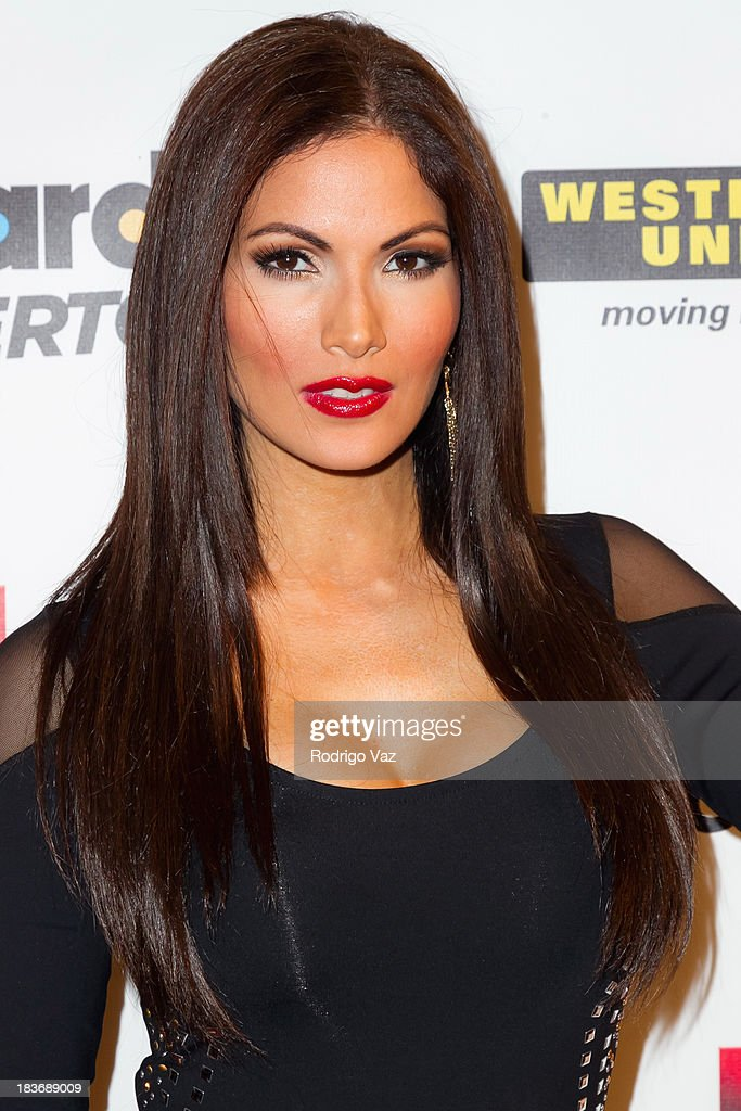 Actress <a gi-track='captionPersonalityLinkClicked' href=/galleries/search?phrase=Cynthia+Olavarria&family=editorial&specificpeople=868810 ng-click='$event.stopPropagation()'>Cynthia Olavarria</a> attends Billboard In Concert Series presents Calibre 50 at The Conga Room at L.A. Live on October 8, 2013 in Los Angeles, California.