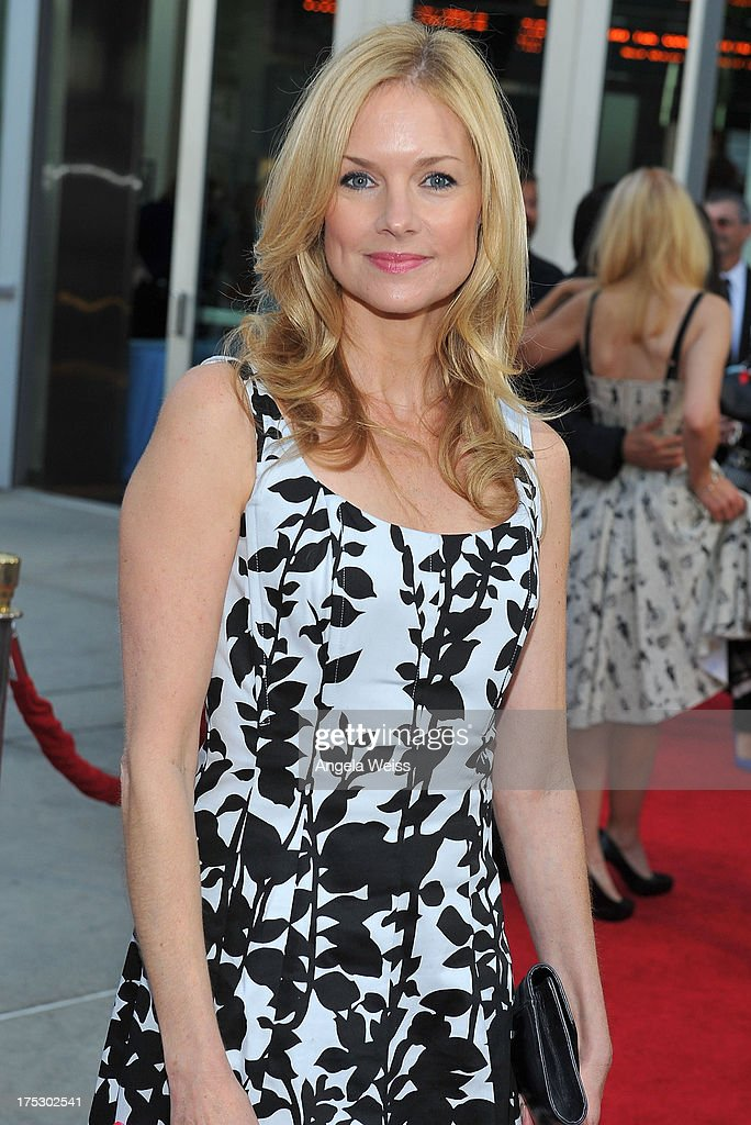 Actress Cynthia Preston arrives at the Screening of Magnolia Pictures' 'I Give It A Year' at ArcLight Hollywood on August 1, 2013 in Hollywood, California.