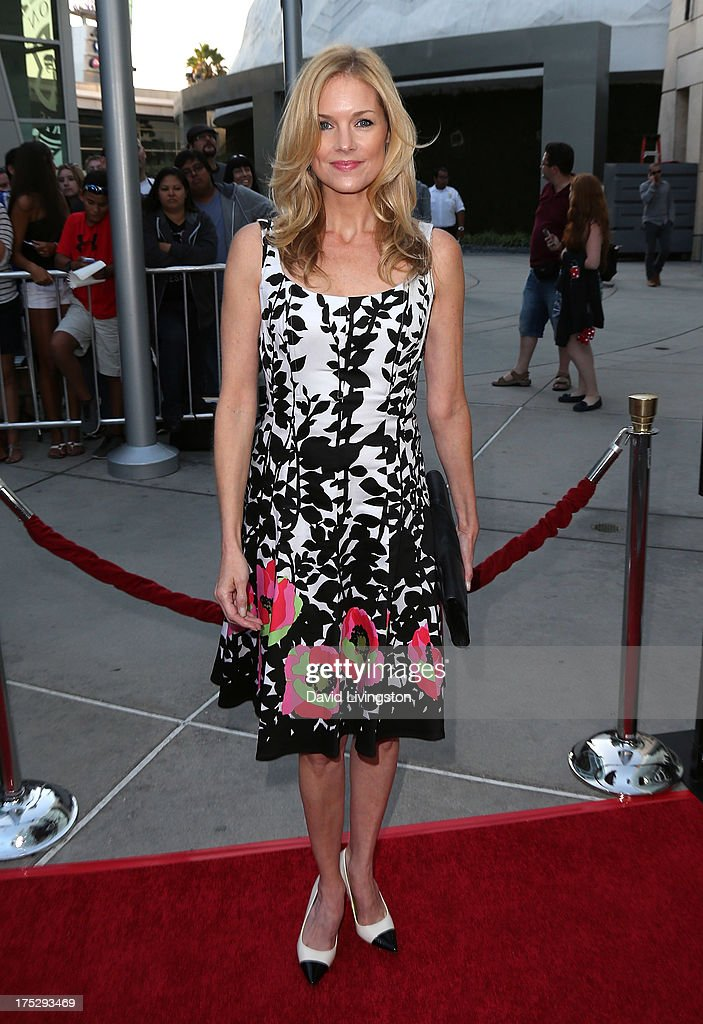 Actress Cynthia Preston attends a screening of Magnolia Pictures' 'I Give It a Year' at ArcLight Hollywood on August 1, 2013 in Hollywood, California.