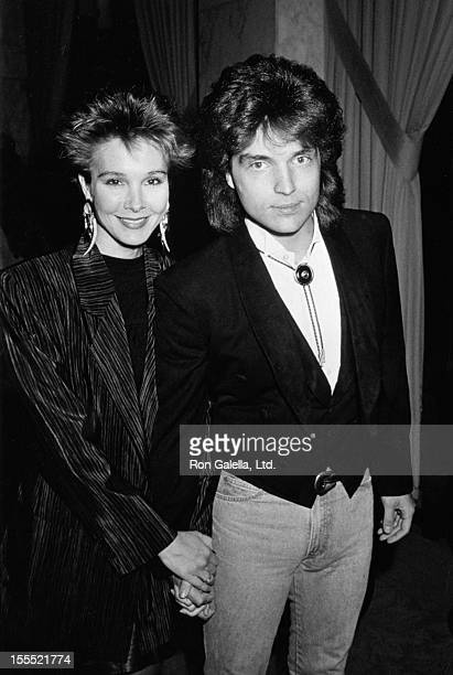 Actress Cynthia Rhodes and musician Richard Marx attend Sixth Annual ASCAP Pop Awards Dinner on May 11 1989 at the Beverly Wilshire Hotel in Beverly...