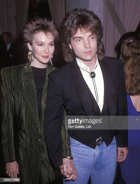 Actress Cynthia Rhodes and musician Richard Marx attend the Sixth Annual ASCAP Pop Music Awards on May 15 1989 at Beverly Wilshire Hotel in Beverly...
