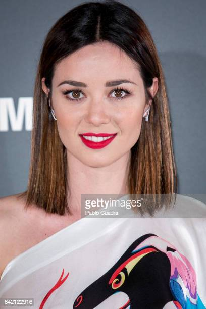 Actress Dafne Fernandez attends the 'Yo Dona' party that inaugurates MercedesBenz Fashion Week Madrid Autumn/ Winter 2017 at Barcelo Torre de Madrid...