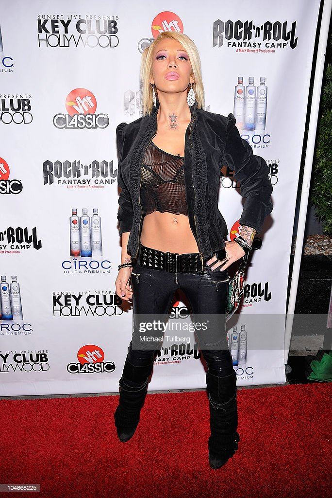 Actress Daisy De la Hoya arrives at the premiere party for VH1 Classic's 'Rock 'N' Roll Fantasy Camp' TV show on October 5, 2010 in Los Angeles, California.