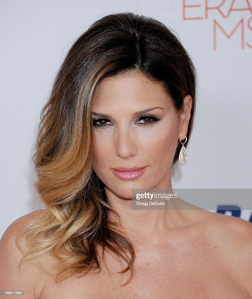 Actress Daisy Fuentes arrives at the 20th Annual Race To Erase MS Gala 'Love To Erase MS' at the Hyatt Regency Century Plaza on May 3, 2013 in Century City, California.