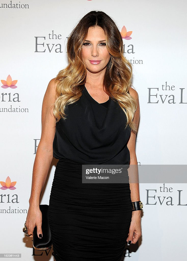 Actress Daisy Fuentes arrives at The Eva Longoria Foundation's Pre-ALMA Awards Dinner Presented By Target on September 15, 2012 in Los Angeles, California.