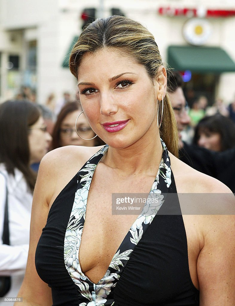 Actress Daisy Fuentes arrives at the premiere of New Lines' 'The Notebook' on June 21, 2004 at the Village Theatre, in Los Angeles, California.