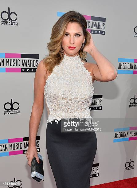 Actress Daisy Fuentes attends the 2013 American Music Awards at Nokia Theatre LA Live on November 24 2013 in Los Angeles California