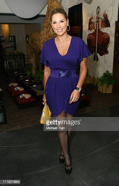 Actress Daisy Fuentes attends the DIFFA's 'Dining By Design' Gala dinner held at the LA Mart on September 15 2008 in Los Angeles California