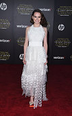 Actress Daisy Ridley arrives at the premiere of Walt Disney Pictures' and Lucasfilm's 'Star Wars The Force Awakens' at the Dolby Theatre TCL Chinese...