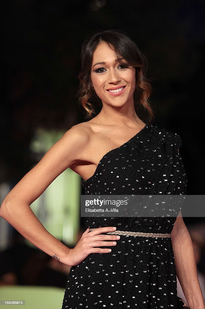 Actress Dajana Roncione attends the 2012 RomaFictionFest Closing Cerimony at Auditorium Parco della Musica on October 5, 2012 in Rome, Italy.
