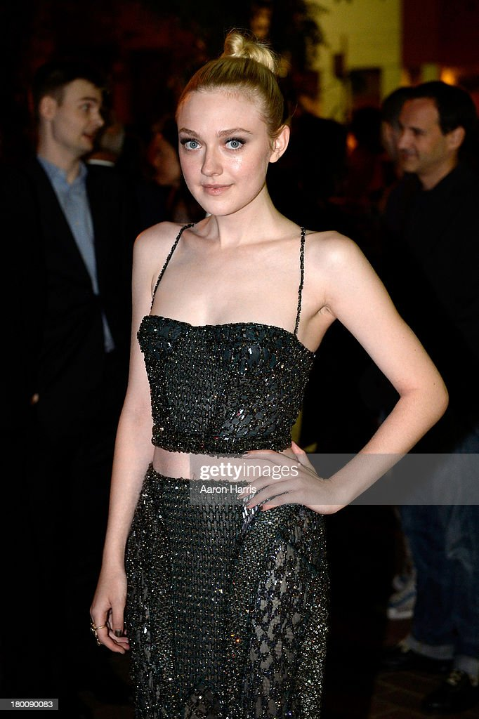 Actress Dakota Fanning arrives at the 'Night Moves' Premiere during the 2013 Toronto International Film Festival at the Ryerson Theatre on September 8, 2013 in Toronto, Canada.