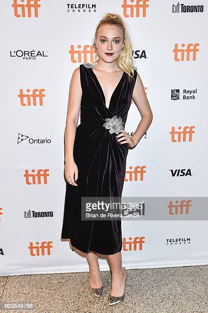 Actress Dakota Fanning attends 'Brimstone' premiere during the 2016 Toronto International Film Festival at The Elgin on September 12 2016 in Toronto...