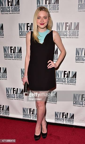 Actress Dakota Fanning attends the New York Film Critic Series Screening Of 'Every Secret Thing' at AMC Empire 25 theater on April 27 2015 in New...