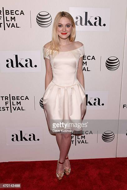 Actress Dakota Fanning attends the premiere of 'Franny' during the 2015 Tribeca Film Festival at BMCC Tribeca PAC on April 17 2015 in New York City