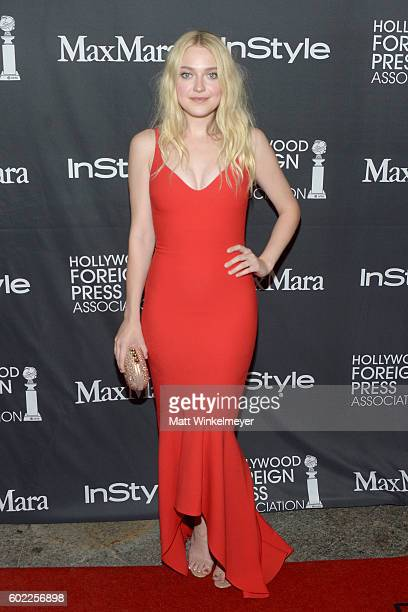 Actress Dakota Fanning attends the TIFF/InStyle/HFPA Party during the 2016 Toronto International Film Festival at Windsor Arms Hotel on September 10...