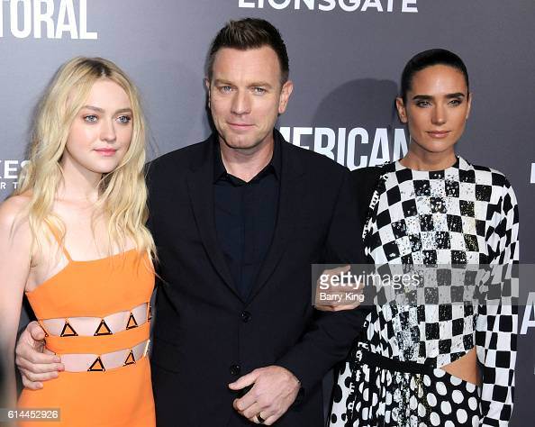 Actress Dakota Fanning director/actor Ewan McGregor and actress Jennifer Connelly attend the premiere of Lionsgate's' 'American Pastoral' at Samuel...