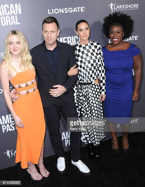 Actress Dakota Fanning director/actor Ewan McGregor and actresses Jennifer Connelly and Uzo Aduba attend the premiere of Lionsgate's' 'American...