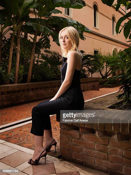 Actress Dakota Fanning is photographed for Vanity Fair Italy on September 1 2013 in Venice Italy