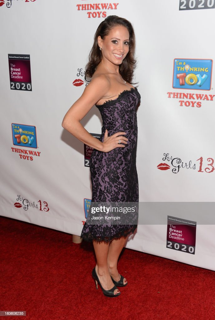Actress Dakota Ferreiro attends the 13th Annual Les Girls benefit at Avalon on October 7, 2013 in Hollywood, California.
