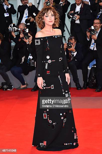 Actress Dakota Johnson attends a premiere for 'A Bigger Splash' during the 72nd Venice Film Festival at on September 6 2015 in Venice Italy