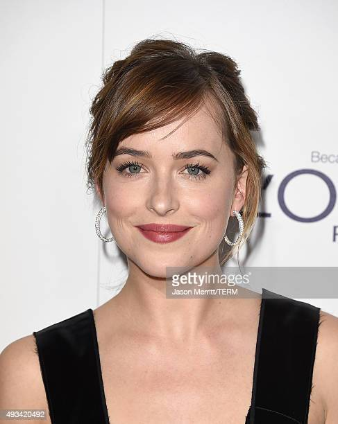 Actress Dakota Johnson attends the 22nd Annual ELLE Women in Hollywood Awards at Four Seasons Hotel Los Angeles at Beverly Hills on October 19 2015...