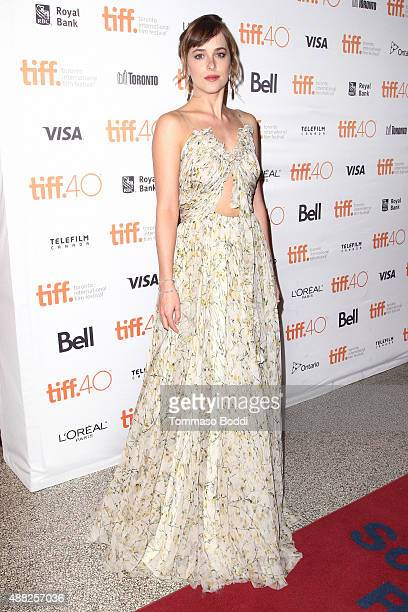 Actress Dakota Johnson attends the 'Black Mass' premiere during the 2015 Toronto International Film Festival held at The Elgin on September 14 2015...