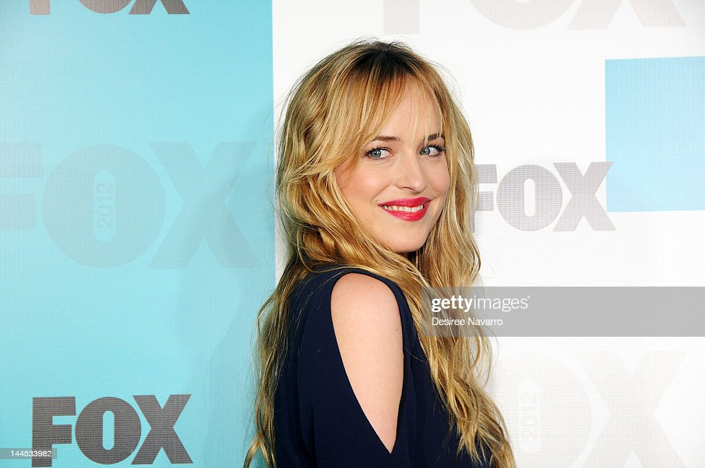 Actress Dakota Johnson attends the Fox 2012 Programming Presentation Post-Show Party at Wollman Rink, Central Park on May 14, 2012 in New York City.