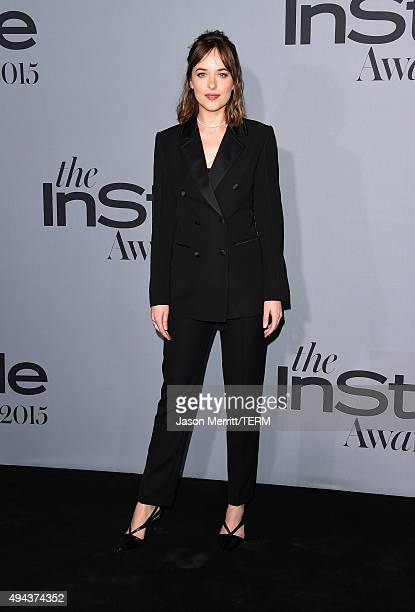 Actress Dakota Johnson attends the InStyle Awards at Getty Center on October 26 2015 in Los Angeles California