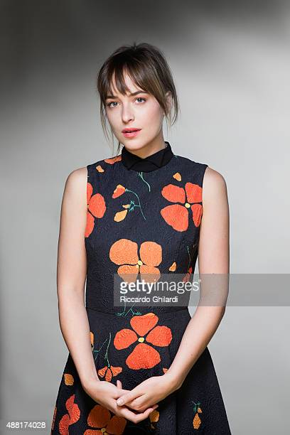 Actress Dakota Johnson is photographed for Self Assignment on September 6 2015 in Venice Italy