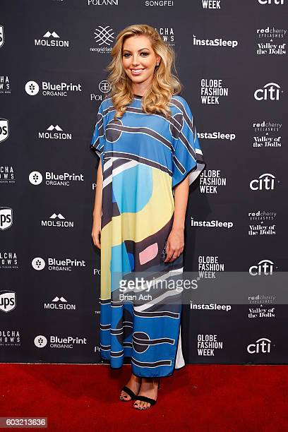 Actress Dalal Bruchmann attends Nolcha Shows New York Fashion Week Women's S/S 2017 presented by InstaSleep Mint Melts at ArtBeam on September 12...