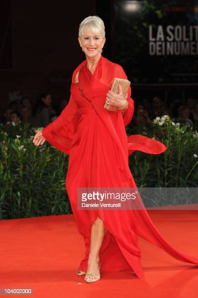 Actress Dame Helen Mirren attends 'The Tempest' World Premiere at the Palazzo del Cinema during the 67th Venice International Film Festivalon...