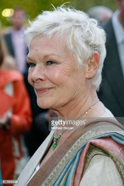 Actress Dame Judi Dench attends the BritWeek Champagne Launch on April 24 2008 in Los Angeles California