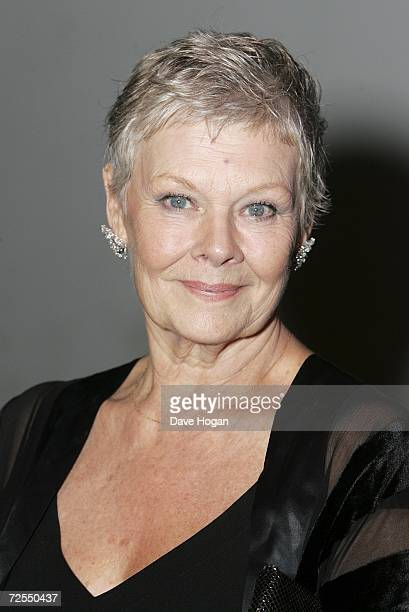 Actress Dame Judi Dench attends the Casino Royale After Party held in Berkley Square on November 14 in London England